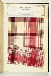 Fashionable Madras Plaid Fabric