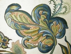 Jacobean Embroidery a Style Based on the Folklore of England