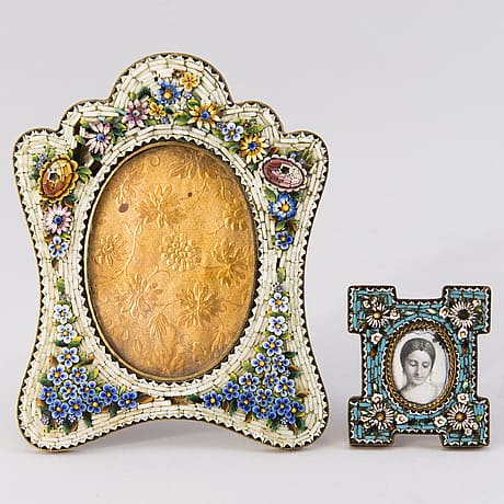 Micro Mosaic a Popular Art from the 19th Century
