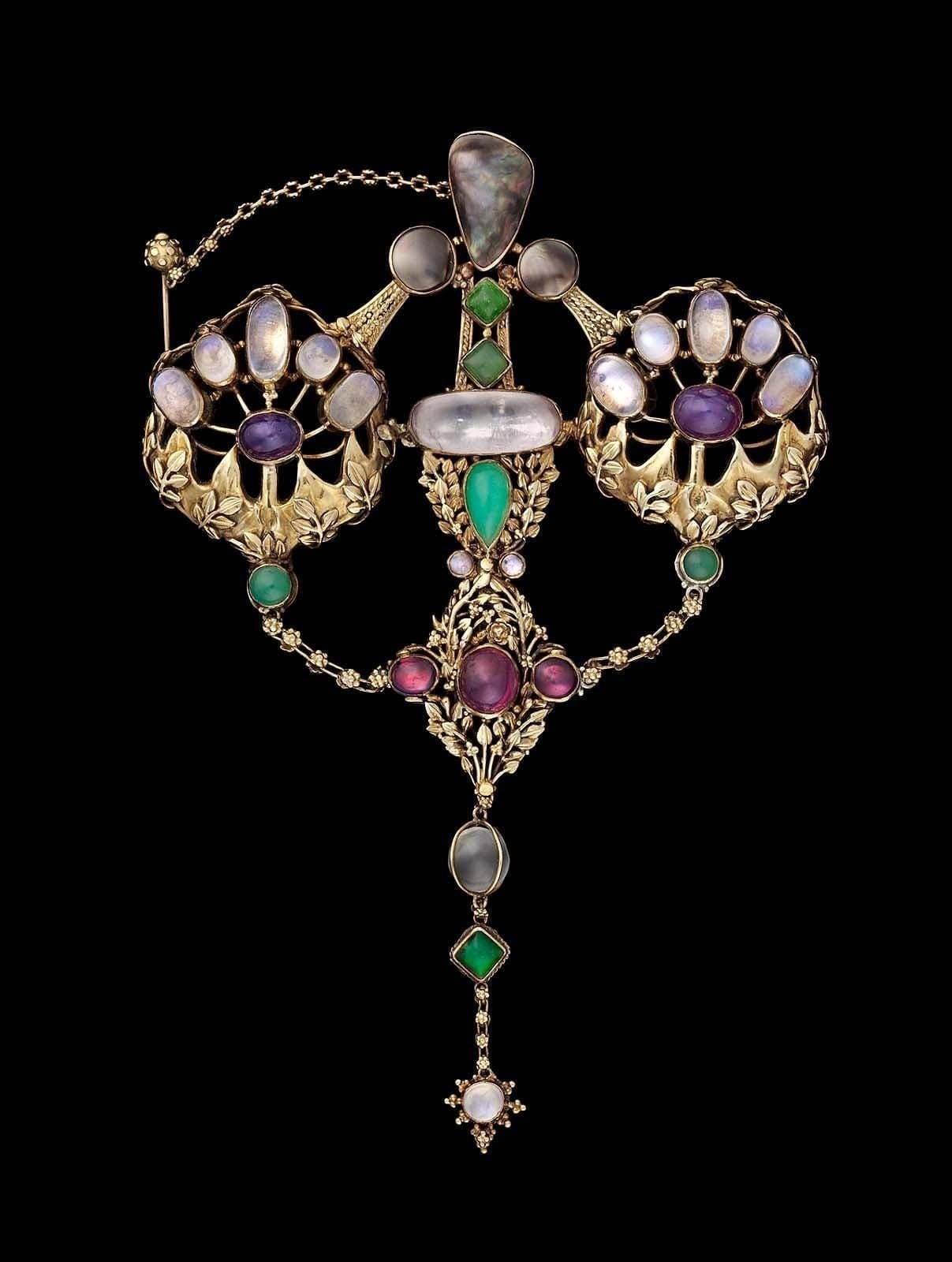 Art Nouveau Movement Supporting Arts & Crafts during Nineteenth-century Europe