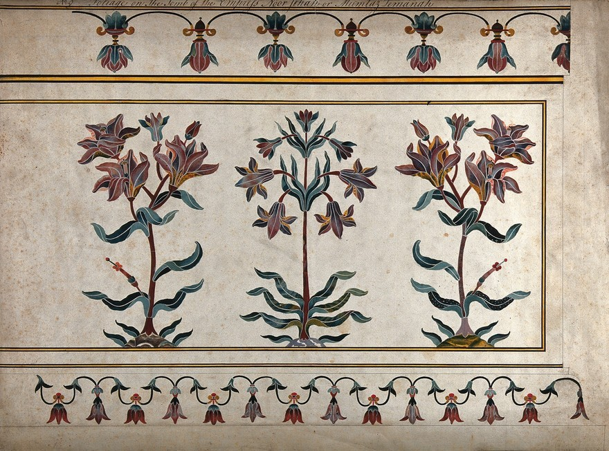 Indian Floral Patterns in Design and Textiles