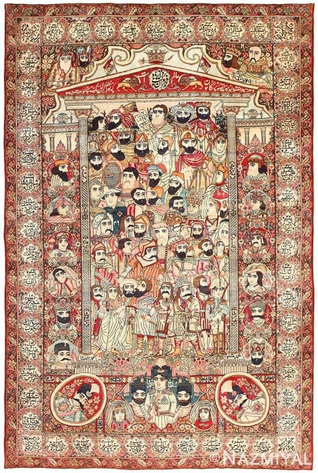 World's Most Famous Carpet Traditions from Persia