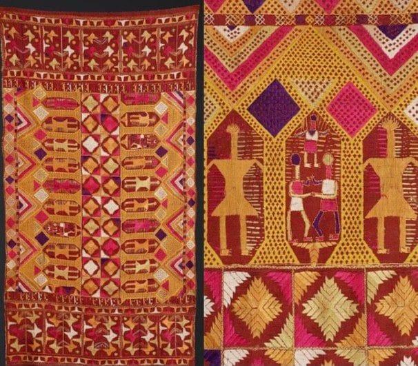 Phulkari Embroidery of the Women of Punjab