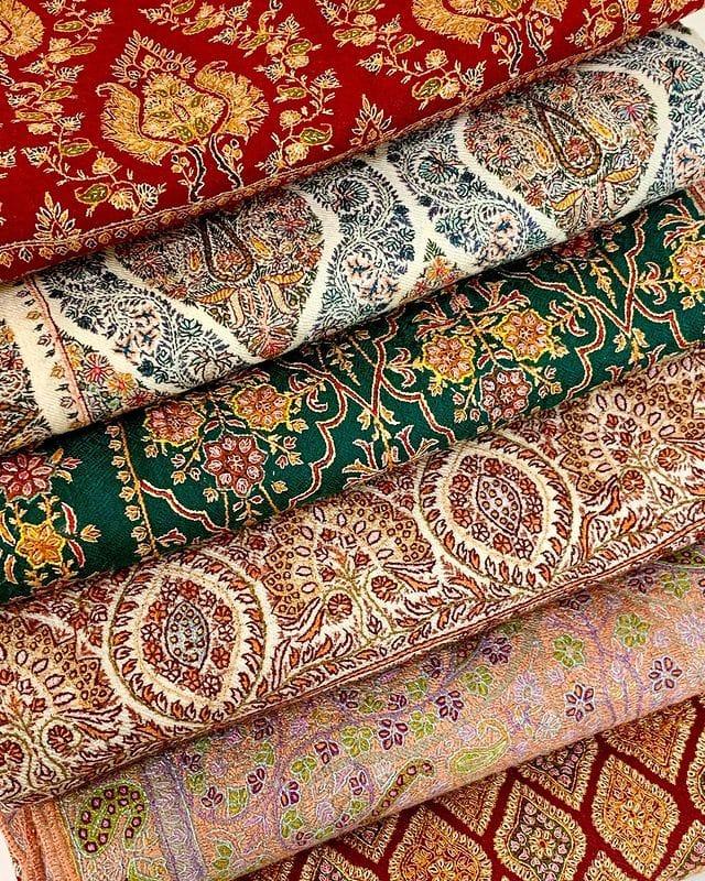 Kashidakari - The Gorgeous Embroideries of Kashmir
