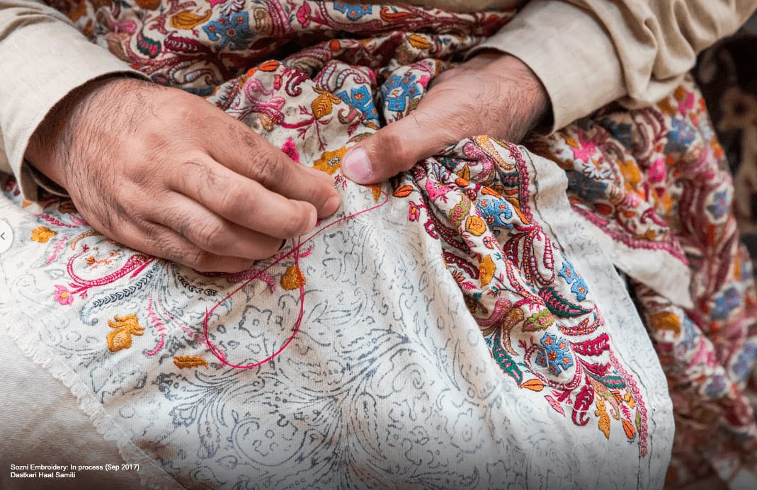 Kashmir Embroidery