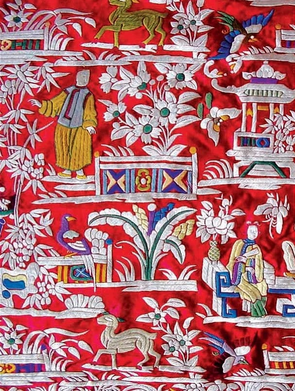 Lyrical Expression of Nature on Fabric - Gara Embroidery