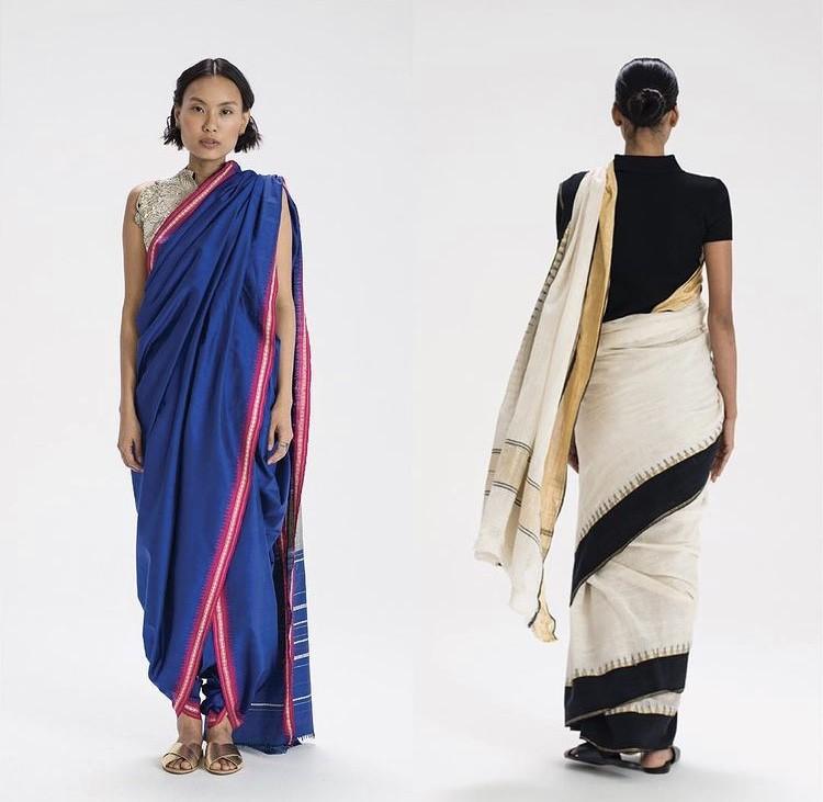 The Genesis of Draped Apparel in India