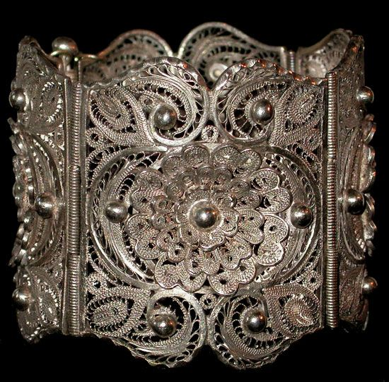 Filigree the Lace in Jewelry